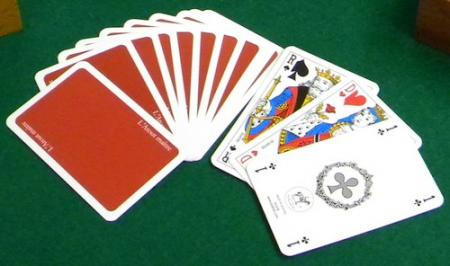 Le premier jeu de cartes : la bataille